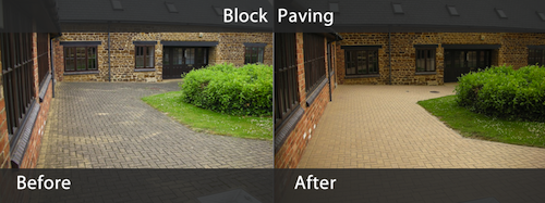 Block Paving Gallery Before & After