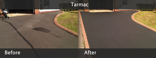 Tarmac Gallery Before & After